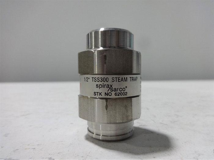 "SPIRAX SARCO 1/2"" STEAM TRAP TSS300 STOCK# 62002"