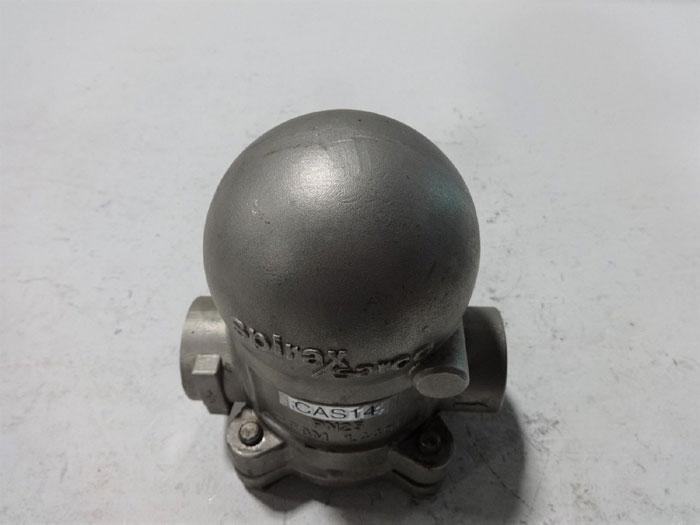 "SPIRAX SARCO 1/2"" AUSTENITIC STAINLESS STEEL BALL FLOAT AIR & GAS TRAP CAS14"