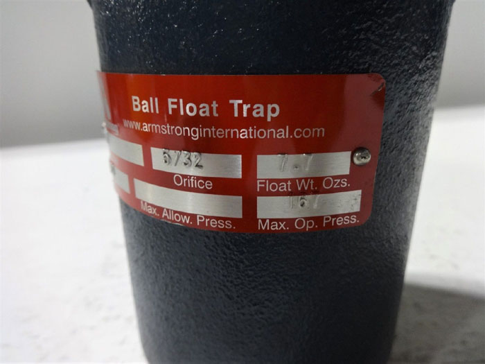 ARMSTRONG 2AV BALL FLOAT TRAP