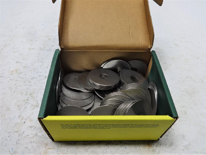 "LOT OF (3) 100-PC BOXES DOTTIE 1/2"" x 2"" STAINLESS STEEL FENDER WASHERS FENWS122"