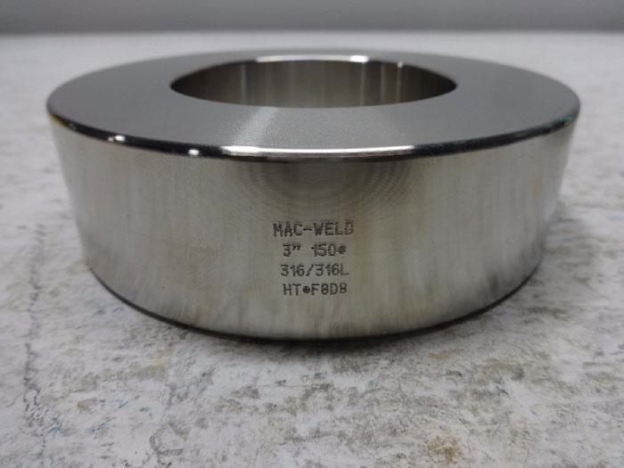 "MAC-WELD 3""  150# BLEED RING"