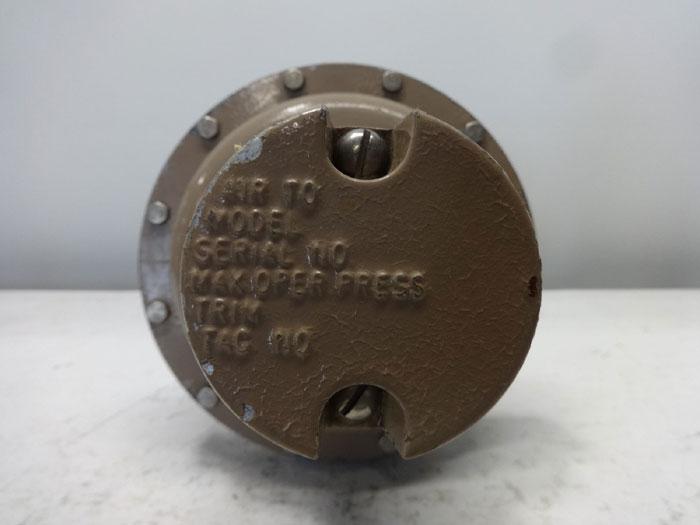 "CASHCO 1/2"" 150# FLANGED CONTROL VALVE, MODEL 521"