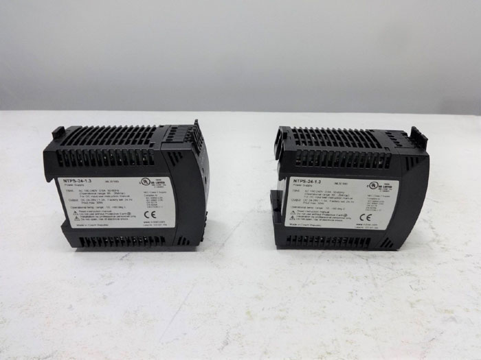 LOT OF (2) N-TRON POWER SUPPLY NTPS-24-1.3