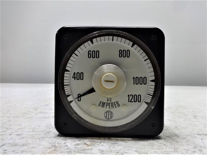 ITE IMPERIAL 0 - 1200 AC AMMETER 573210240