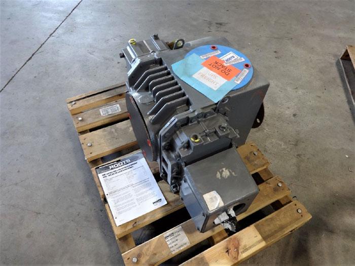 DRESSER ROOTS RH-2012190BR ROTARY LOBE BLOWER 412 DVJ W/ ADAPTER BR