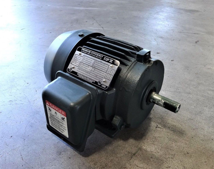 TOSHIBA EQP III 0.5 HP PREMIUM 3-PHASE INDUCTION MOTOR B1/24FLF2AMH