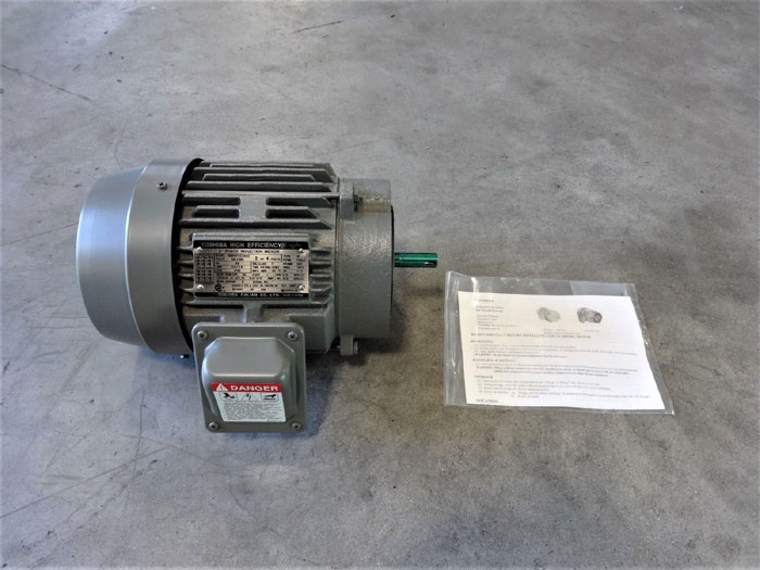 TOSHIBA HIGH EFFICIENCY 2 HP 3-PHASE INDUCTION MOTOR B0024FLC2AOZ