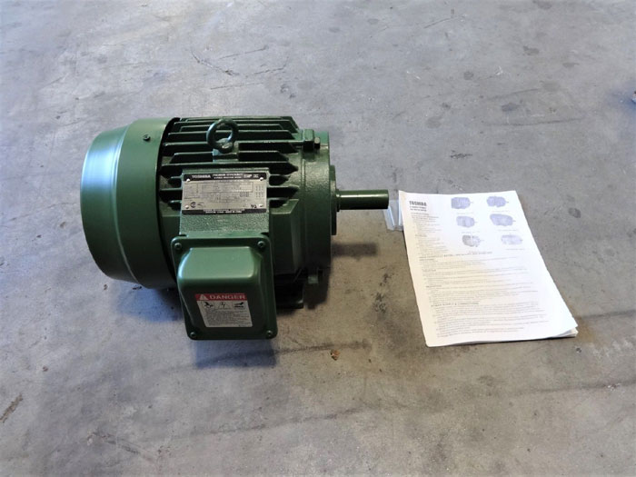 TOSHIBA EQP III PREMIUM EFFICIENCY 2 HP 3-PHASE INDUCTION MOTOR B0026FLF2AYH