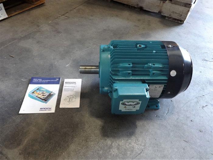 INVENSYS BROOK CROMPTON 10 HP AC MOTOR 5927211WA-00