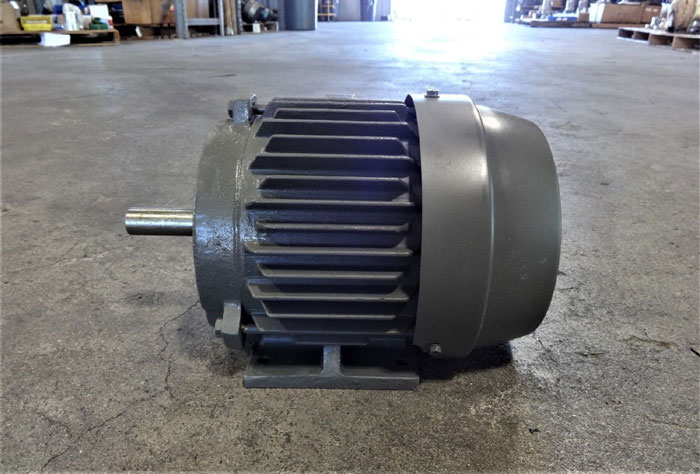 TOSHIBA 1.5 HP HIGH EFFICIENCY EPACT-CT 3-PHASE INDUCTION MOTOR Y152FTSA21A-P
