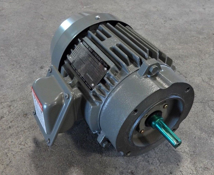 TOSHIBA 1 HP HIGH EFFICIENCY 3-PHASE INDUCTION MOTOR B0012FMC2AOZ