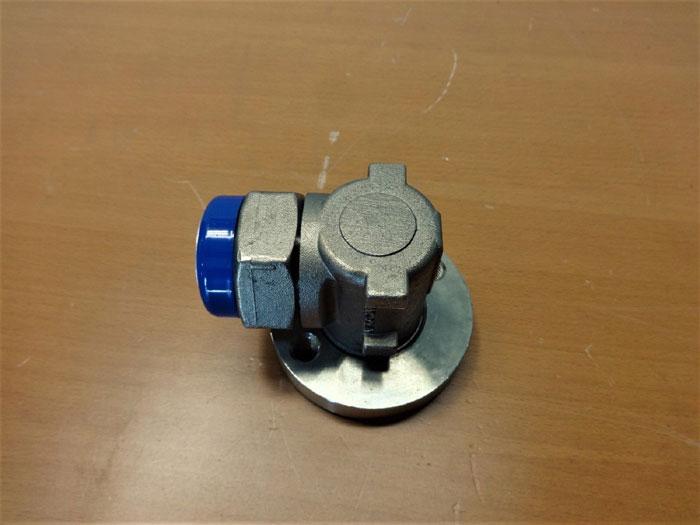 SPIRAX SARCO UTD52L COOL BLUE THERMODYNAMIC STEAM TRAP W/ SWIVEL CONNECTOR