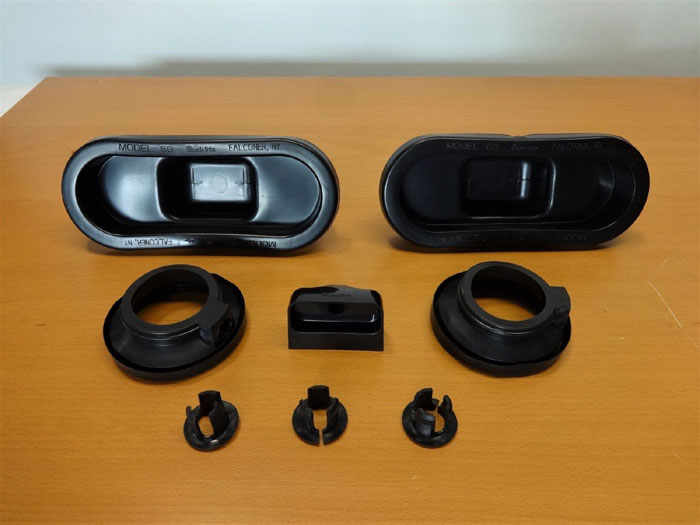 TRUCK-LITE & SATE-LITE BUMPER ASSEMBLY RECESSED LED LIGHT KIT