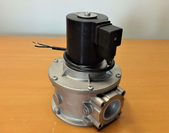 """PSI INDUSTRIAL 1-1/4"""" GAS VALVE 32502218/01 W/ ODE SOLENOID ASSEMBLY"""