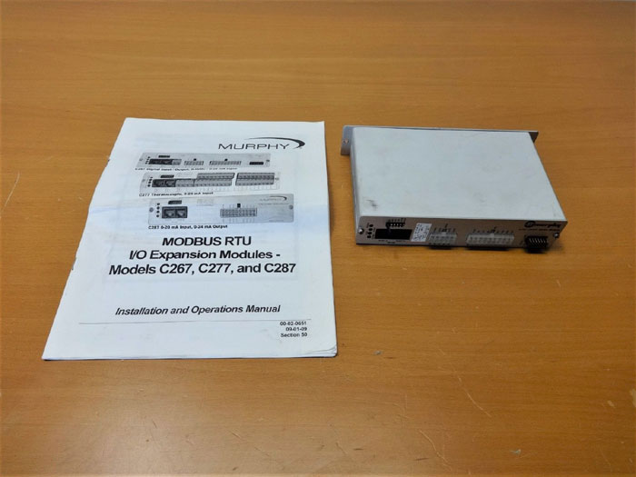 MURPHY C267 COMM SERIES I/O EXPANSION MODULE