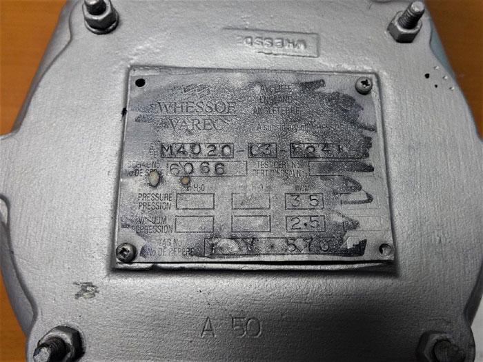 """VAREC 4"""" PRESSURE VACUUM RELIEF VALVE M4020-03-524"""