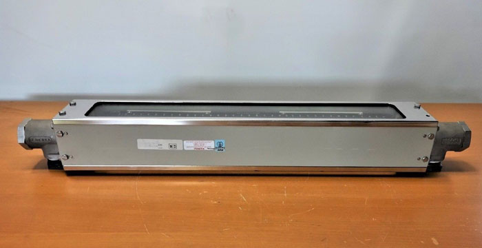 BROOKS INSTRUMENTS GLASS TUBE FLOW METER 110CM61CUDAA