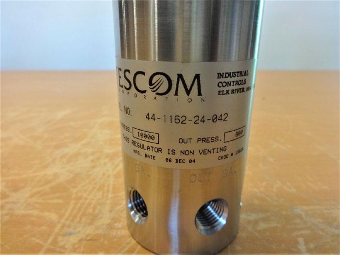 TESCOM 44-1162-24-042 PRESSURE REDUCING REGULATOR, STAINLESS STEEL, 10000 PSI