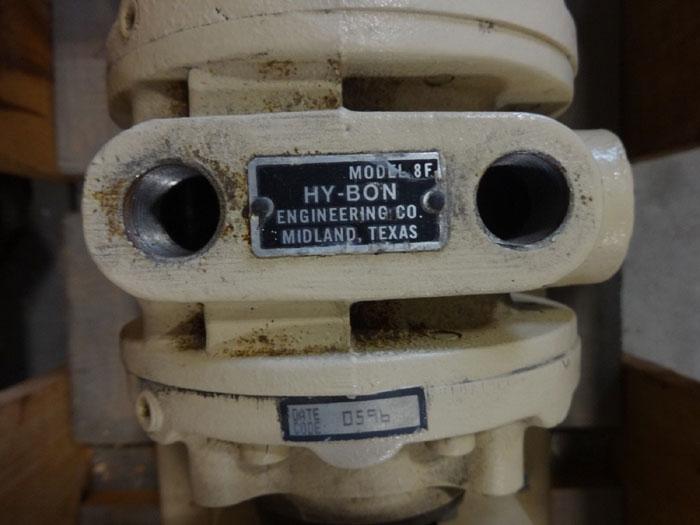 GORMAN RUPP PUMP GMS1 1/2GJ3-B W/ HY-BON MODEL 8F