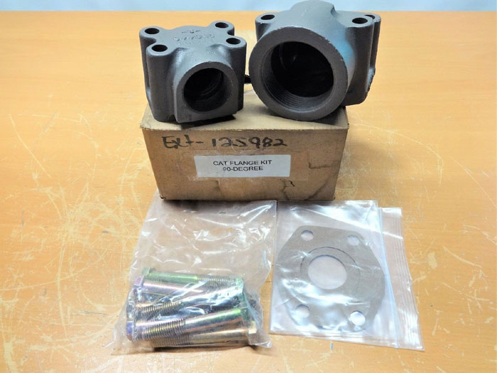 CAT 90 DEGREE ELBOW FLANGE KIT 8N8446, 8N8447-3