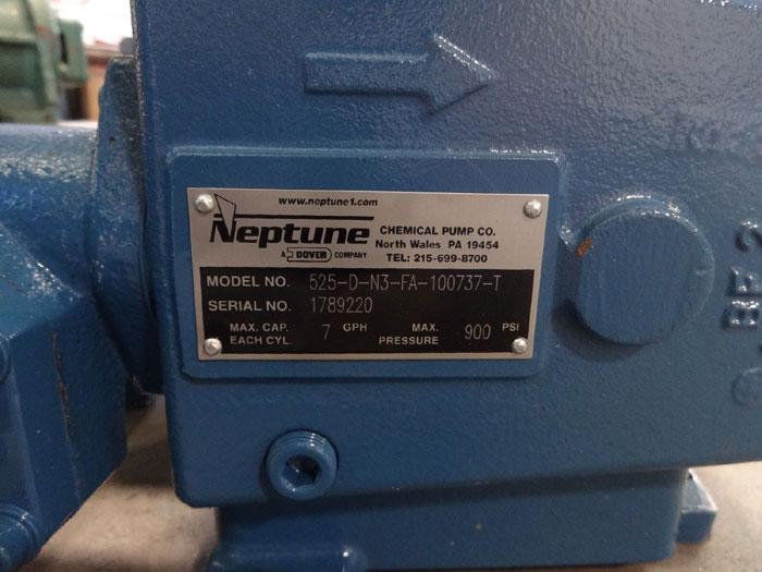 NEPTUNE METERING PUMP 525-D-N3-FA-100737-T