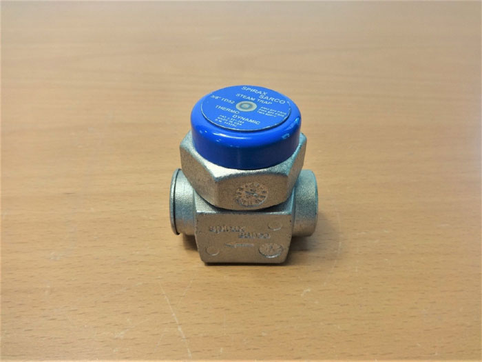 "SPIRAX SARCO 3/8"" COOL BLUE TD52 THERMODYNAMIC STEAM TRAP 54529C"