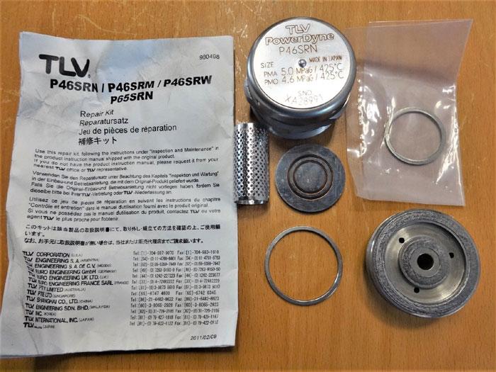 LOT OF (2) TLV POWERDYNE REPAIR KIT P46SRN