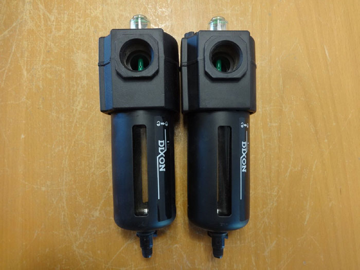 "LOT OF (2) DIXON 3/4"" OIL FOG LUBRICATOR L74C-6"