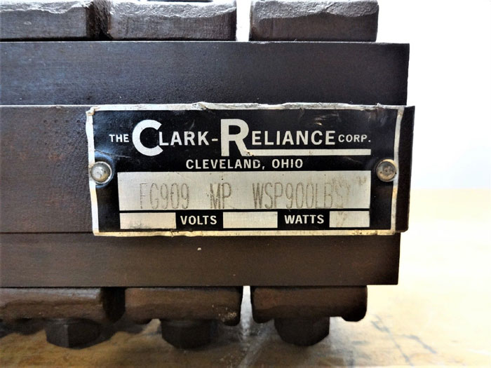 CLARK RELIANCE FG909 MP WSP 900LBS FLAT GLASS SIGHT GAUGE