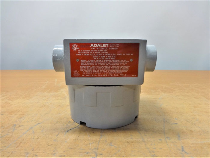 ADALET XIHLX SERIES HAZARDOUS LOCATION ENCLOSURE 3/4""