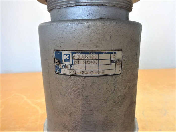 HUBBELL KILLARK EW-65C-23 PIN & SLEEVE PLUG 4W, 4P