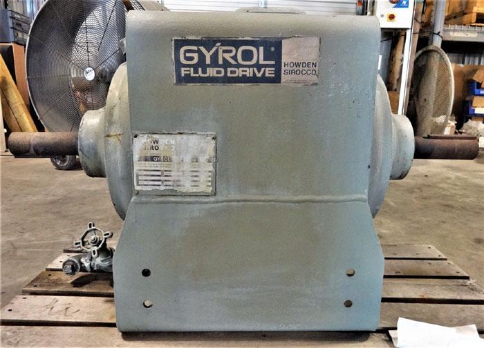 HOWDEN SIROCCO SIZE 107 GYROL FLUID DRIVE T10755000