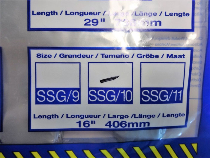 NORTH SSG/10 SILVER SHIELD CHEMICAL RESISTANT GLOVES, SIZE 10 - 30 PAIRS