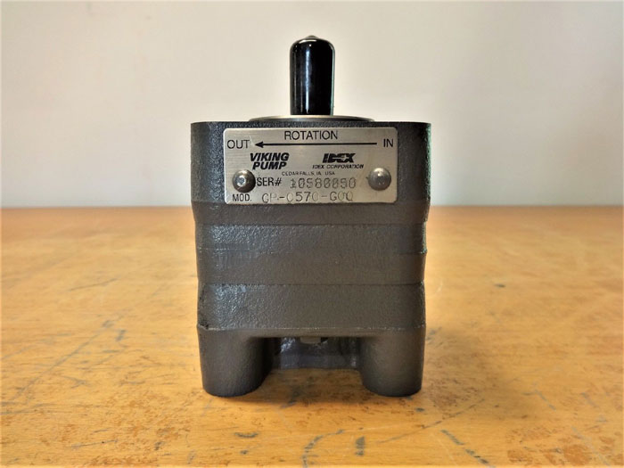 VIKING HYDRAULIC GEAR PUMP GP-0570-G0Q