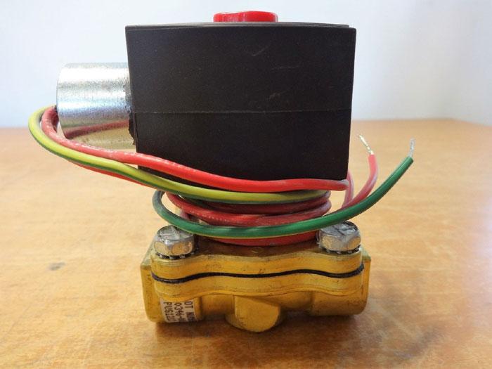 ASCO RED HAT 2-WAY BRASS SOLENOID VALVE EF8210G94 / EF8003G1