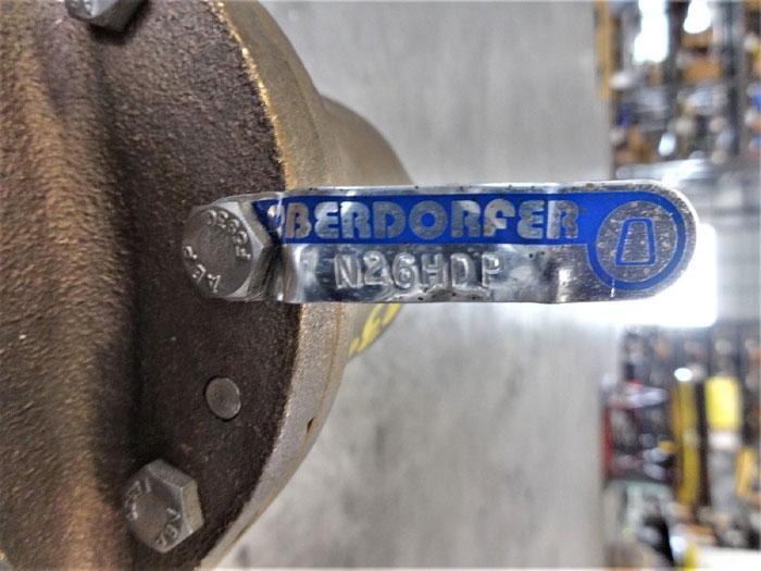 "OBERDORFER 2"" NPT BRONZE PEDESTAL ROTARY PUMP N26HDP"