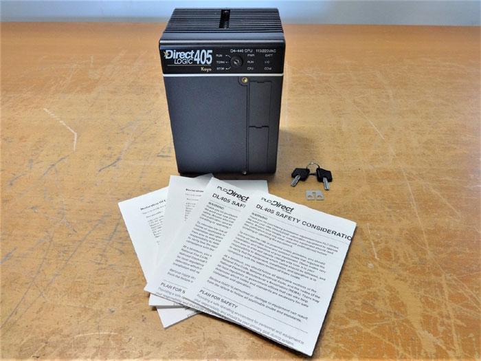 PLC DIRECT LOGIC 405 BY KOYO D4-440 CPU MODULE
