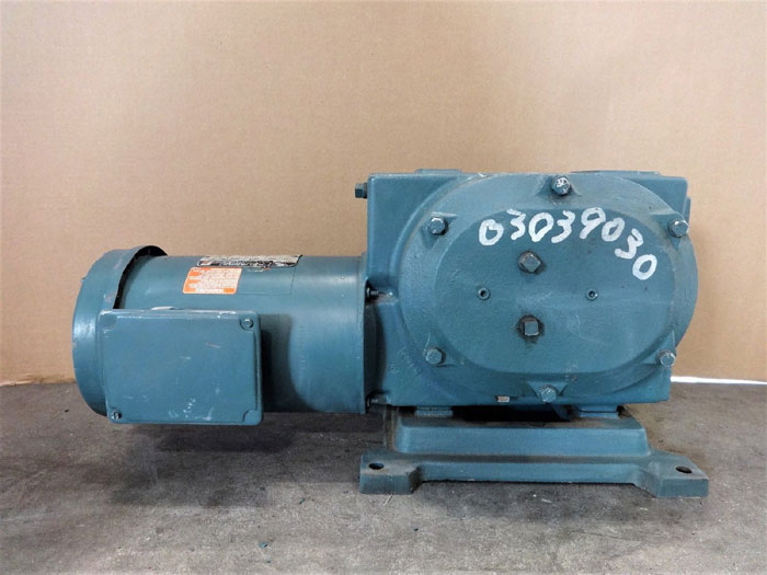 RELIANCE ELECTRIC MASTER XL GEARMOTOR M630977001YP  907916720AW, SIZE FD145CG21B