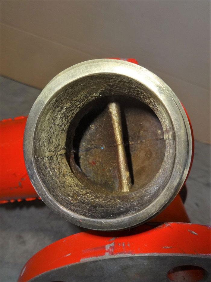 "BUCKEYE FIRE MONITOR, 3"" FLANGE, BRASS"