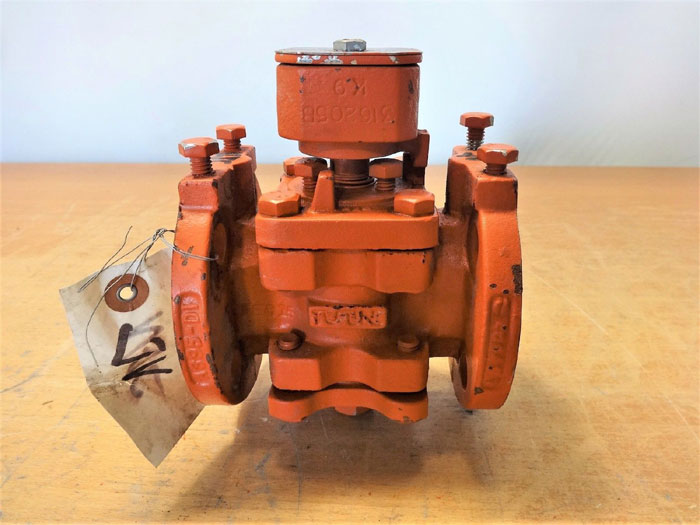 "TUFLINE 1"" 150# 2-WAY LINED PLUG VALVE 061 V, PRODUCT# 93A382"