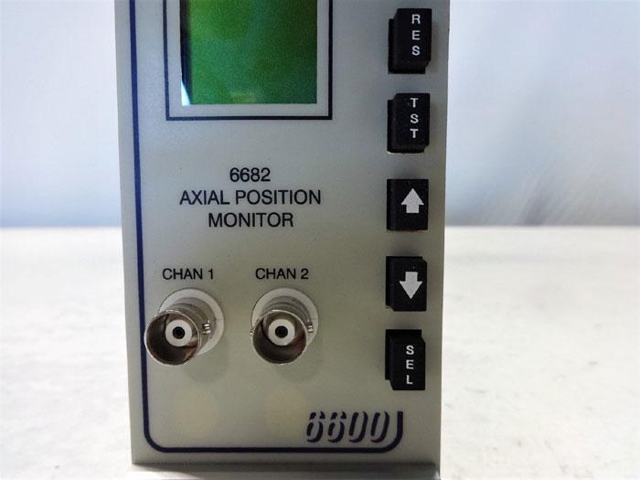 ENTEK 6600 SERIES AXIAL POSITION MONITOR #6682, MODEL C6682