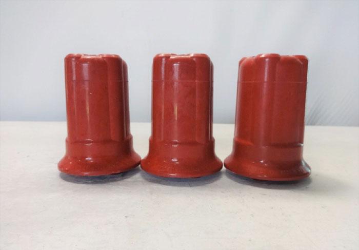 LOT OF (3) ROCHLING GLASTIC INSULATOR FG44640-15-15KV-10