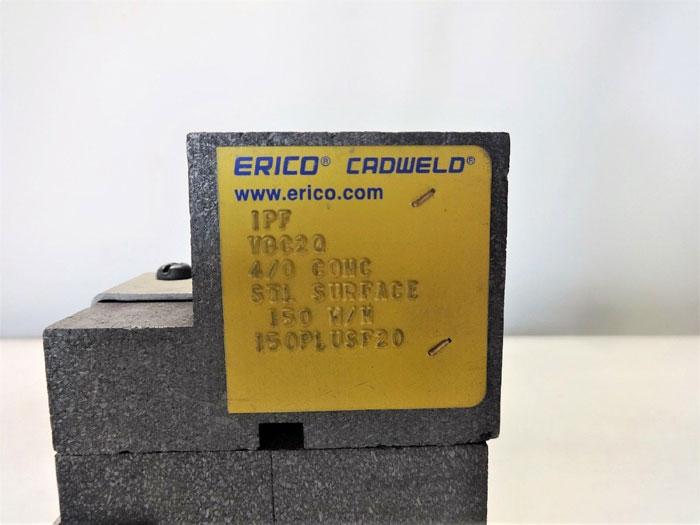 LOT OF (2) ERICO CADWELD HORIZONTAL TEE CONNECTION MOLD VBC2Q