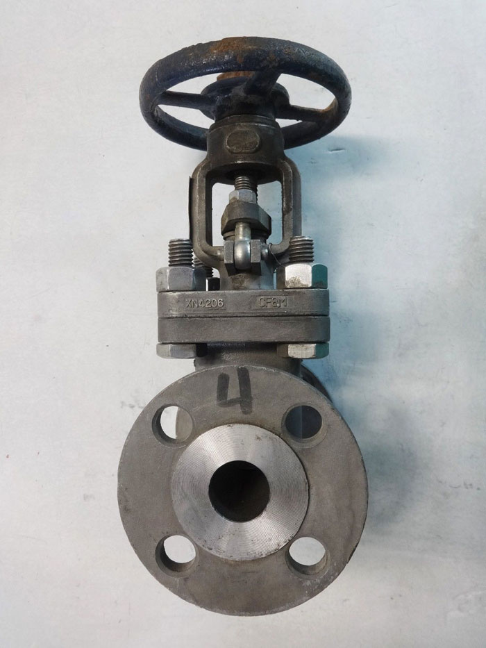 """POWELL 1"""" 150# CF8M FLANGED GATE VALVE, FIG# 1.00 2491"""