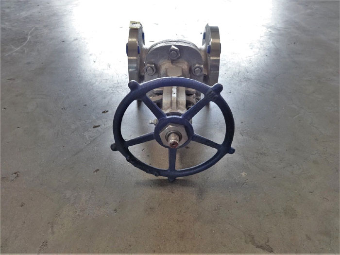 """POWELL 2-1/2"""" 150# CF8M FLANGED GATE VALVE, FIG# 2456"""
