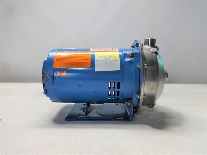 GOULDS 1MS1D2D4 CENTRIFUGAL PUMP, G & L SERIES MCS, SIZE 1 X 1-1/4 - 6