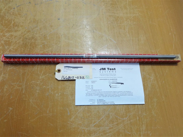 "LOT OF STARRETT END MEASURING RODS 22"" #234B-22 AND 23"" #234B-21"