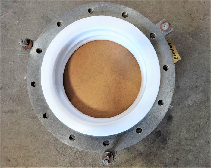 "12"" X 4-1/2"" EXPANSION JOINT, PTFE BELLOW, CARBON STEEL FLANGES, 3-SPOKE"