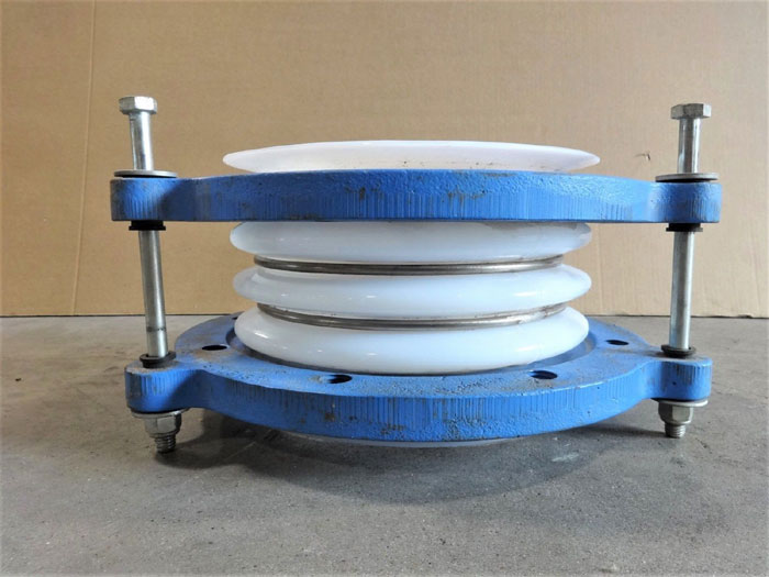 "6"" X 6"" EXPANSION JOINT, PTFE BELLOW, CARBON STEEL FLANGES, 3-SPOKE"