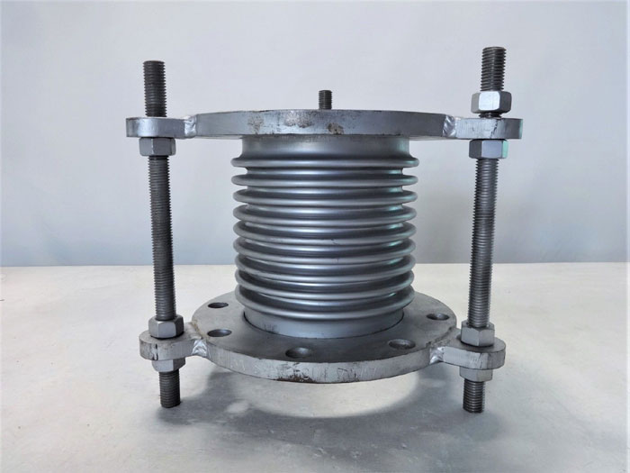 """UNAFLEX 6"""" X 8-3/4"""" METAL EXPANSION JOINT, STAINLESS STEEL BELLOW"""